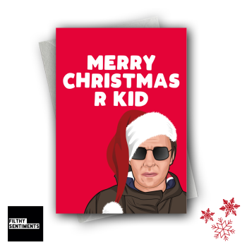 XMAS R KID CHRISTMAS CARD FS1271