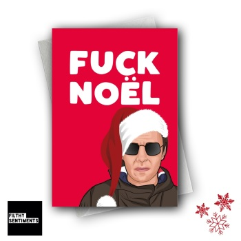 FUCK NOEL CHRISTMAS CARD FS1272
