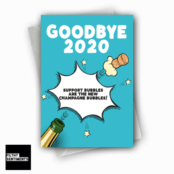 GOODBYE 2020 NEW YEAR CARD FS1286