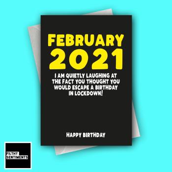 FEBRUARY 2021 CARD FS1291