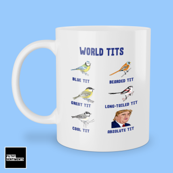 ABSOLUTE TIT TRUMP MUG 252
