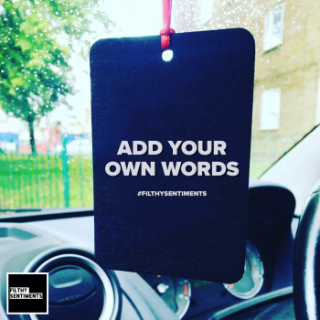 BESPOKE CAR AIR FRESHENER