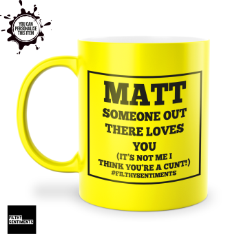 SOMEONE LOVES YOU MUG 119