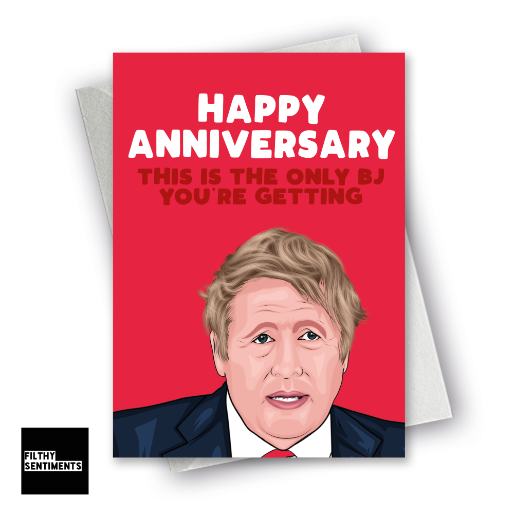 ANNIVERSARY ONLY BJ CARD  F