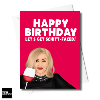 MOIRA SCHITT CREEK CARD - XFS0225