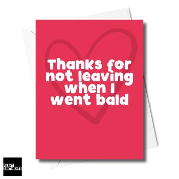 BALD CARD XFS0244
