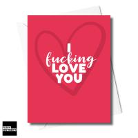 HEART LOVE YOU CARD XFS0247