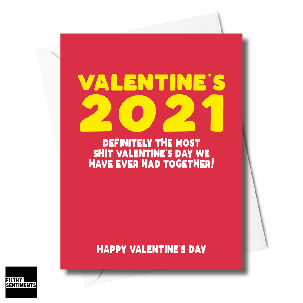 VALENTINE'S 2021 CARD XFS0255
