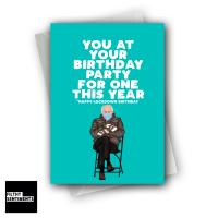 BERNIE PARTY FOR ONE CARD - XFS0257