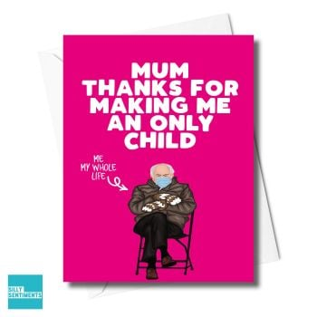 ONLY CHILD PINK CARD  -XFS0326
