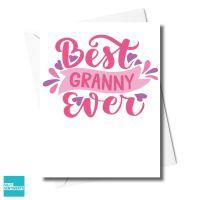 BEST GRANNY CARD - XFS0330