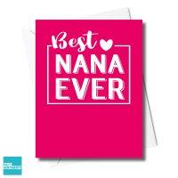 NANA IS THE BEST CARD - XFS0332