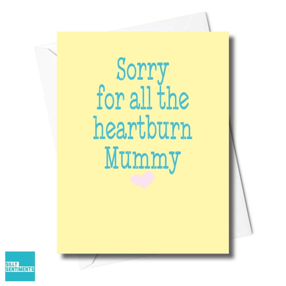 MUMMY HEARTBURN CARD - XFS0341