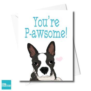 YOU'RE PAWSOME CARD - FXFS0342