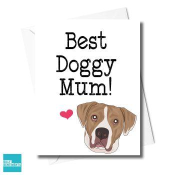 BEST DOGGY MUM CARD - FXFS0346