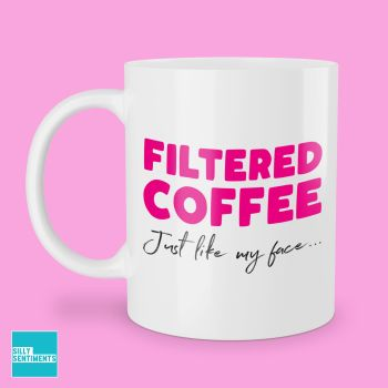 FACE FILTERED COFFEE MUG - 274