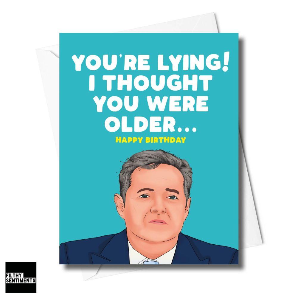 YOU'RE LYING CARD - XFS