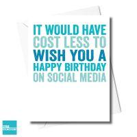 SOCIAL MEDIA  CARD - XFS0460