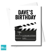 PERSONALISED DIRECTOR LOCKDOWN BIRTHDAY CARD XFS0500