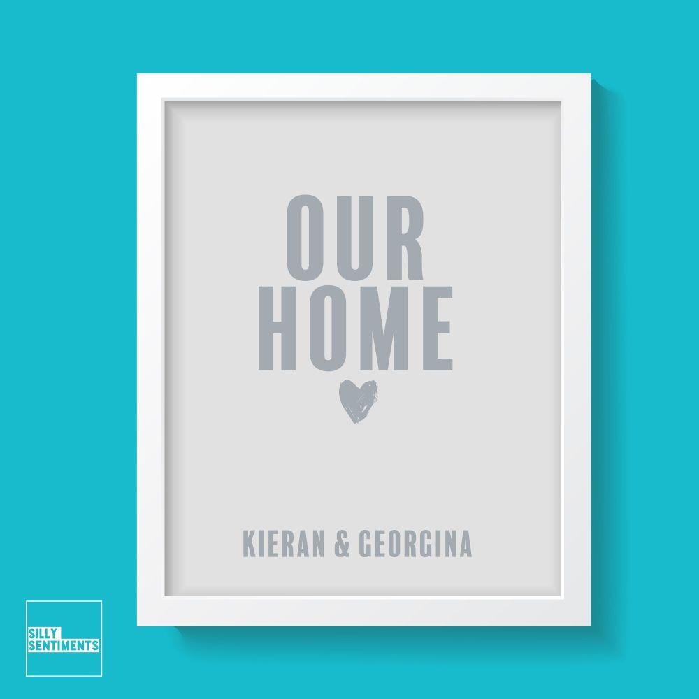 OUR HOME PRINT - XPRI023