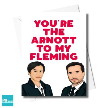 ARNOTT FLEMING LINE OF DUTY CARD - XFS0563
