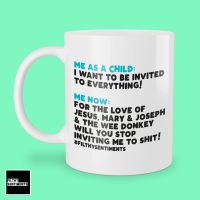 STOP INVITING ME LINE OF DUTY MUG  293
