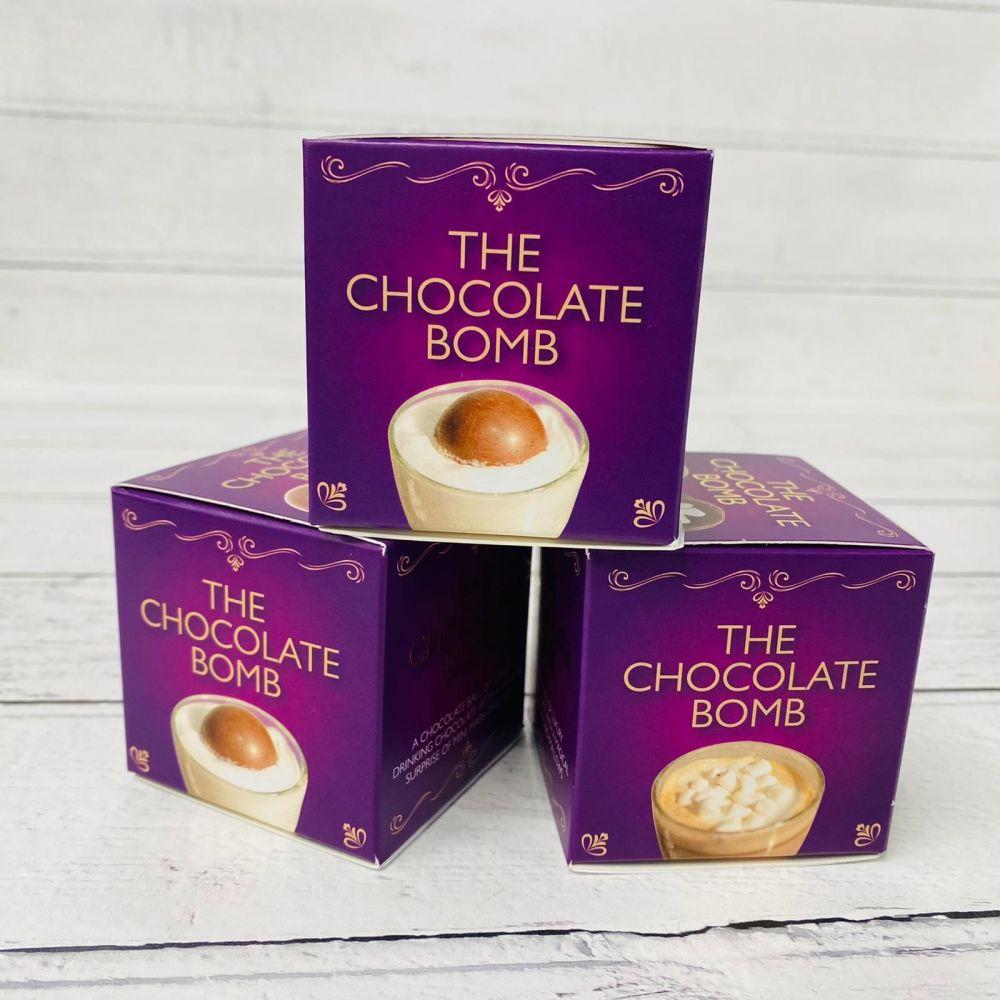 HOT CHOCOLATE BOMBS X 3