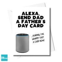 ALEXA GRUMPY FART FATHER'S DAY CARD XFS0372