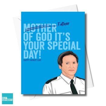 FATHER OF GOD  TED CARD - XFS0695