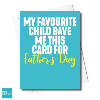 FAVE CHILD CARD - XFS0713