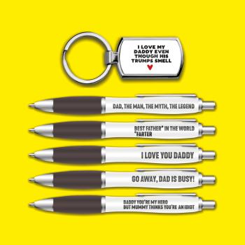 Pen Pack & Keyring Bundle (Trumps Keyring & Pen Pack)