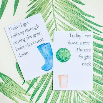Gardener Achievement Cards
