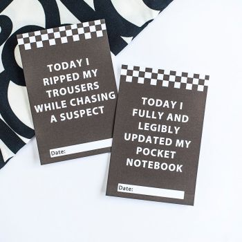 Personalised Funny Police Achievement Cards