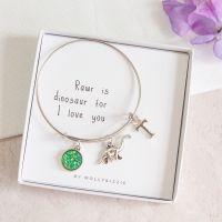 Dinosaur Bangle In Gift Box