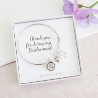 Thank You Bridesmaid Bangle