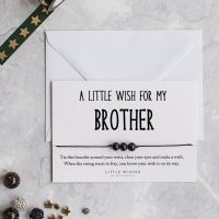 A Wish for my Brother