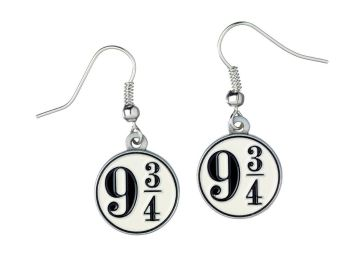 Harry Potter Platform 9 3/4 Earrings - Silver Plate