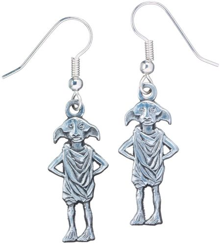 Harry Potter Dobby the House-Elf Earrings - Silver Plate