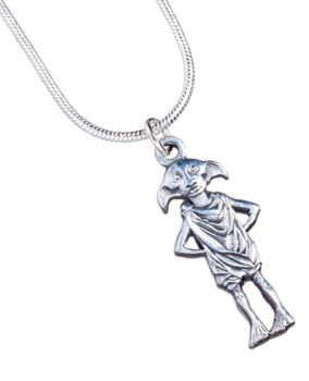 Harry Potter Dobby the House-Elf Necklace - Silver Plate