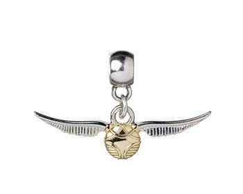 Harry Potter Golden Snitch Slider Charm - Silver Plate