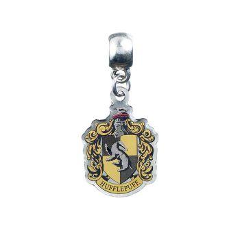 Harry Potter Hufflepuff Slider Charm - Silver Plate