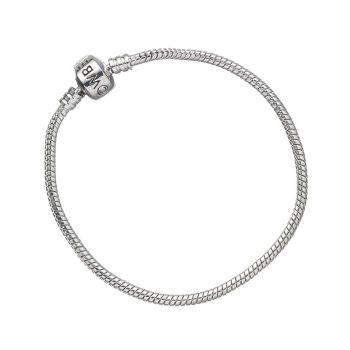 Harry Potter Silver Plated Charm Bracelet for Slider Charms - Medium 19cm