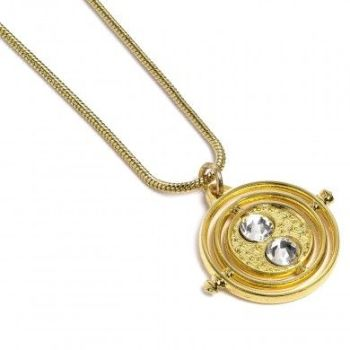 Harry Potter Fixed Time Turner Necklace - Gold Plated