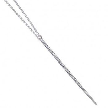Hermione Granger Wand Necklace - Sterling Silver