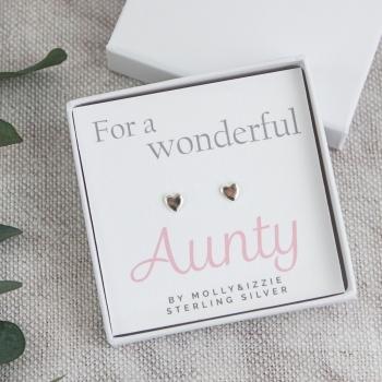 Aunty Sterling Silver Earrings