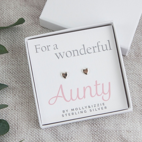 Aunty Sterling Silver Earrings