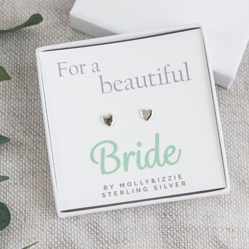 Bride Sterling Silver Earrings