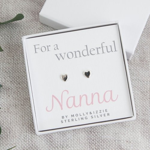 Nanna Sterling Silver Earrings