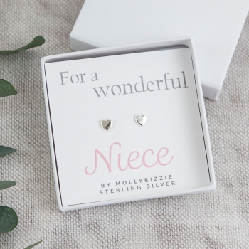 Niece Sterling Silver Earrings