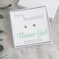 Flowergirl Sterling Silver Earrings